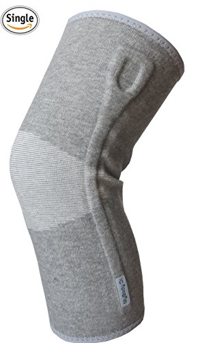 MyBodyDr Bamboo Knee Sleeve - Knee Compression Sleeve & Knee brace - Knee Patella Strap - Knee Wrap & Knee Support for Patella Tendonitis, Jumpers and Runners Knee - Men and Women