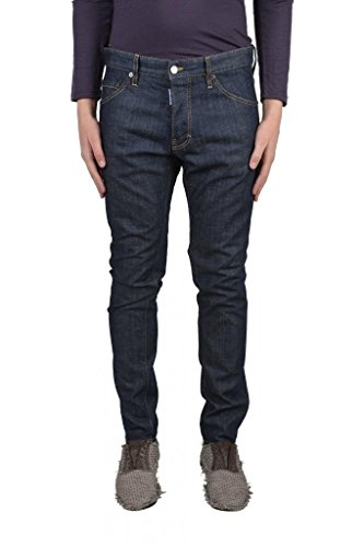 "Dsquared2 ""Cool Guy Jean"" Dark Wash Slim Fit Men's Denim Jeans US 28 IT 44;"