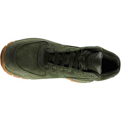Nike Mens Acg Air Max Stivali In Pelle Goadome Oliva Oliva / Esercito Oliva-goadome M (pelle Scamosciata)