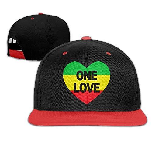 x Hip-Hop Flat Bill Snapback Hats Plain Cotton Baseball Cap for Women ()