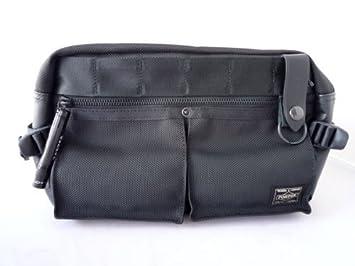 Yoshida Bag Porter Waist Bag Heat 703-07971 Black from Japan