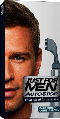 Juste pour Stop Auto Men Hair Dye chimique, blond foncé et brun clair