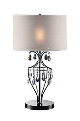 OK Lighting Refined Crystal Table Lamp