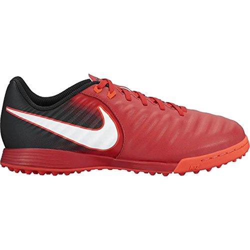 e788cf44 Nike Botas Futbol Tiempox Ligera IV (TF) Artificial-Turf Roja/Negra Niño