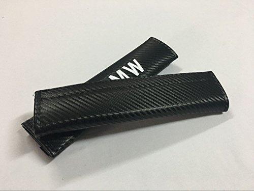 - Hongyingcar 2pcs Car Seat Belt Carbon Fiber Cover Shoulder Cushion Cover Pad for BMW