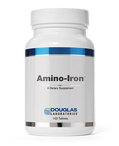 (Douglas Laboratories - Amino-Iron - Highly Absorbable Iron/Amino Acid Supplement - 100 Tablets)