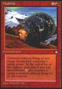- Magic: the Gathering - Mudslide - Ice Age