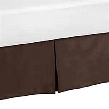 """16 /""""  DAYBED BLACK FULL SIZE 54/""""  DEEP TAILORED  BED SKIRT  SPLIT CORNERS"""