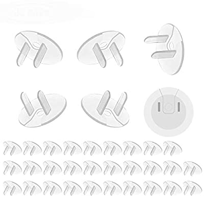 38 Pack Outlet Covers, Baby Proof Plug Protectors, Electrical Safety Plug Covers