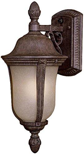 Minka Lavery 8997-61-PL 1 Light Outdoor Wall Mount Lighting, Vintage Rust Finish
