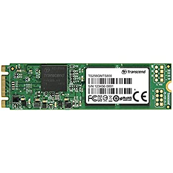 Transcend 256GB SATA III 6Gb/s MTS800 80 mm M.2 Solid State Drive (TS256GMTS800)