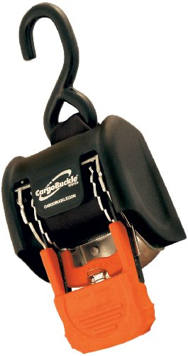 CargoBuckle F18800 G3 Retractable Ratchet Tie-Down System, 2-Pack (2 Inch Ratchet Tie Down)