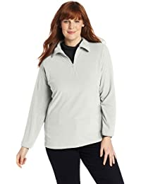 Women's plus-size Glacial Fleece III 1/2 Zip Plus