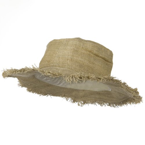 Hemp-Hat-with-Frayed-Brim-Natural-W02S30D