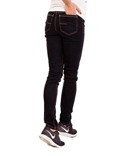 Maternidad Vaqueros Nitis Recto Para Embarazada Dark Black De Stephanie Mujer Pantalón Wash 32l Pantalones Umstandsmode amp; 36l TXfX4I