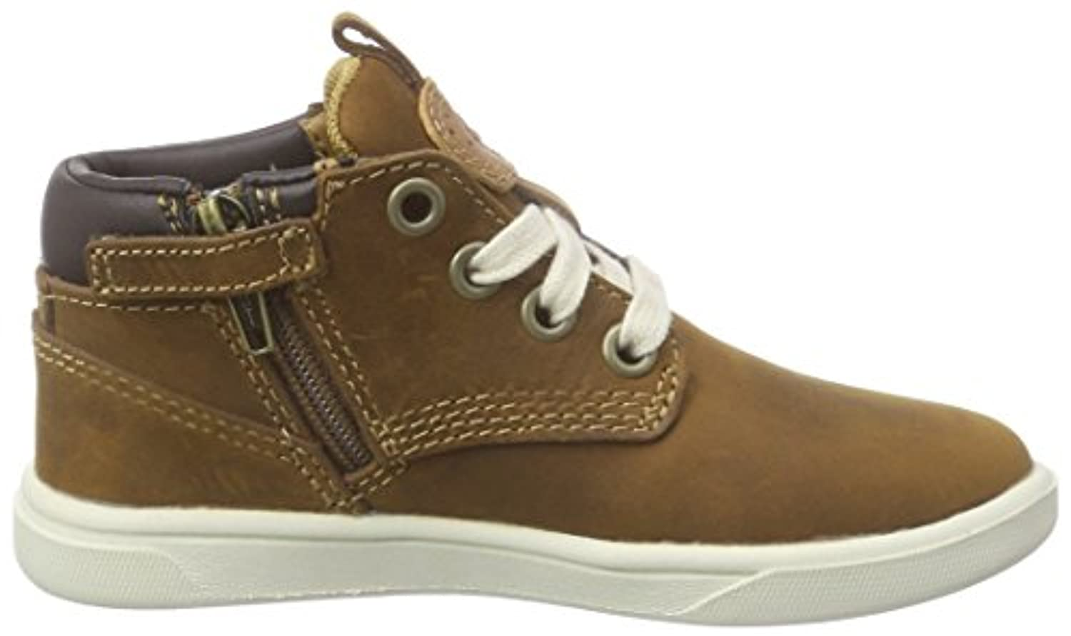 Timberland Groveton_groveton Leather Chukka, Unisex Kids' Low-Top Sneakers, Brown (Glazed Ginger Roughcut), 6.5 Child UK (23.5 EU)