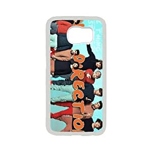 [QiongMai Phone Case] For Samsung Galaxy S6 -Famous One Direction Music Band-Case 8