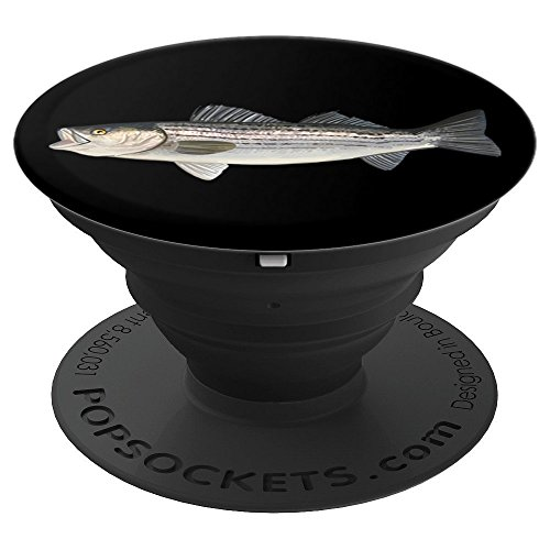 Striped Bass | Striper Fishing - PopSockets Grip and Stand for Phones and Tablets