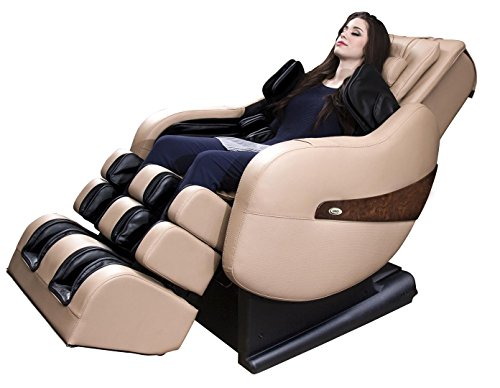 Luraco Legend L-Track Home Massage Chair (Cream)