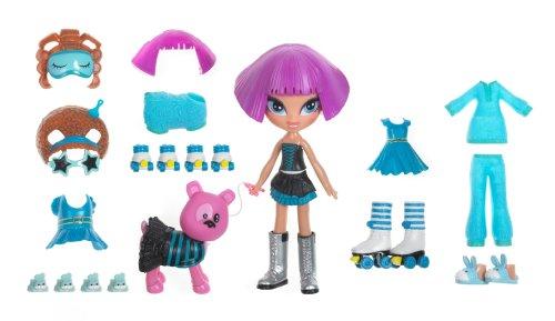 4-Ever Kidz Snap-On Fashion Petz Dollpack- Cloe (4ever Kidz Snap)