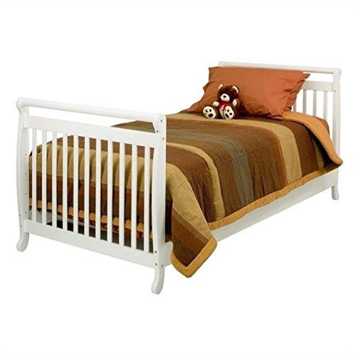 Emily Da Furniture Baby Vinci - Million Dollar Baby Co Davinci Emily Kids Bed in White - Twin