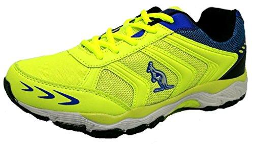 Australian Zapatillas de Material Sintético Para Hombre Amarillo Amarillo 36
