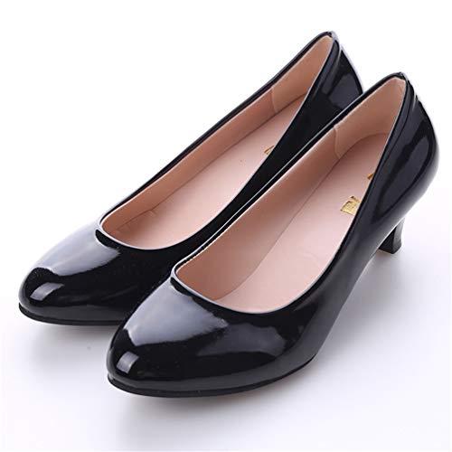 Sexy Hauts Mouth De Chaussures Hallow Chaussures Chaussures À Dames Talons Nude Bureau Mode Noir Élégantes De pour Femmes Décontractées q7wtBIn