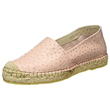 Selected Femme Marley Ostrich Espadrille - Heavenly Pink Womens Shoes