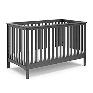 Storkcraft Hillcrest 4-in-1 Convertible Crib, Gray (B00JL6LOFO) | Amazon price tracker / tracking, Amazon price history charts, Amazon price watches, Amazon price drop alerts