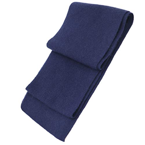 Cashmeren Men's 100% Cashmere Solid Color Winter Wrap Scarf, Ultimate Soft and Cozy 70