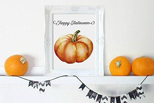 Rustic Fall Home Decor, Fall Decor, Autumn Home Decor, Pumpkin Printable, Fall Decor Sign, Fall Wall (Happy Halloween Printables)