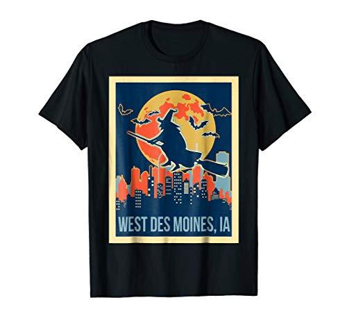 west des moines iowa halloween shirt -