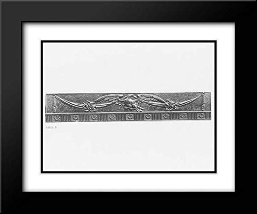 (Samuel McIntire - 36x28 Black Modern Frame and Double Matted Museum Art Print - Sofa)