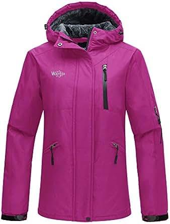 Amazon.com: Wantdo Women's Windproof Ski Jacket Mountain