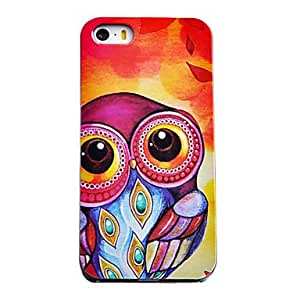 MOFY-Owl Joyland con el modelo grande de los ojos del ABS nuevo caso para el iPhone 5/5S