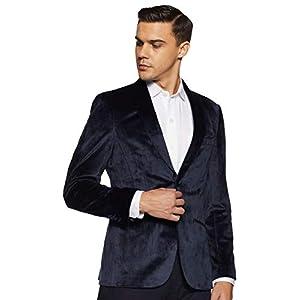 John Players Men's Shawl Collar Slim Blazer