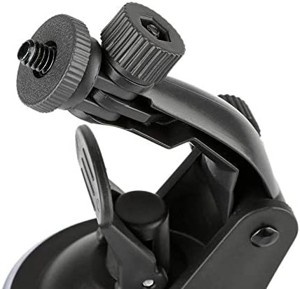 Daphot-Store 360 Degree Rotating Car Camera Bracket Car Driving Recorder Bracket Car Holder Sport DV Camera Suction Cup Mount for Honda