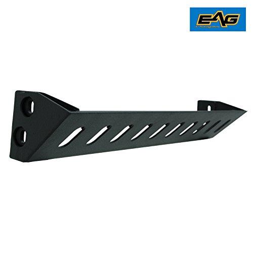 EAG JK Lower Skid Plate for 07-17 Jeep Wrangler JK Bumper 51-0308 / 51-0308L / (Engine Cover Skid Plate)