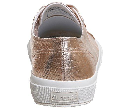 Rose Superga algodón hombre de Gold deporte Zapatillas para de Irxw0grfq