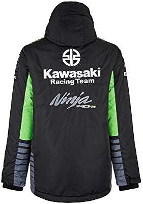 Kawasaki Hombre Krt SBK Chaqueta Negra/Verde - 2XL: Amazon ...