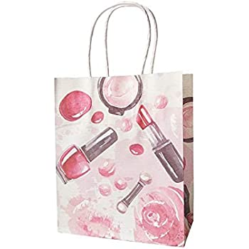 4271a1d2f944 Amazon.com: JEWH Small Gift Paper Bag with Handles for Fashion Store ...