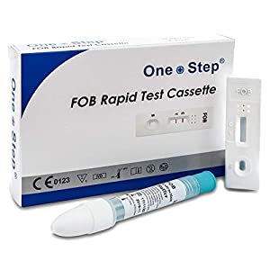 One Step – Bowel Cancer Testing Kit Colon Faecal (FOB) Test Pack (1 Test)