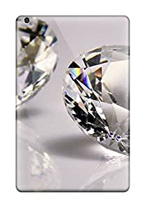 Rolanlark Case Cover For Ipad Mini/mini 2 - Retailer Packaging Diamonds Protective Case