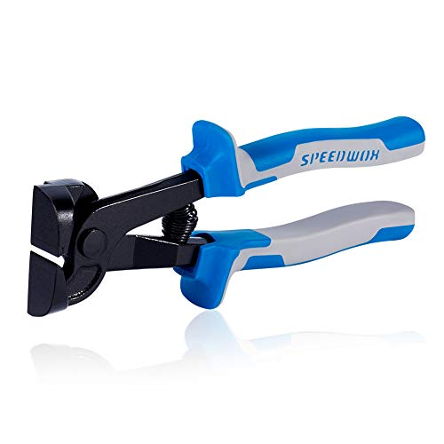 SPEEDWOX Glass Tile Nipper 8 Inches Glass Cutters for Quickly Cutting Porcelain Mosaic Ceramic Mirror Professional Hand Tile Snipper Score Tile Working Tool Heavy Duty Pliers Tool ()