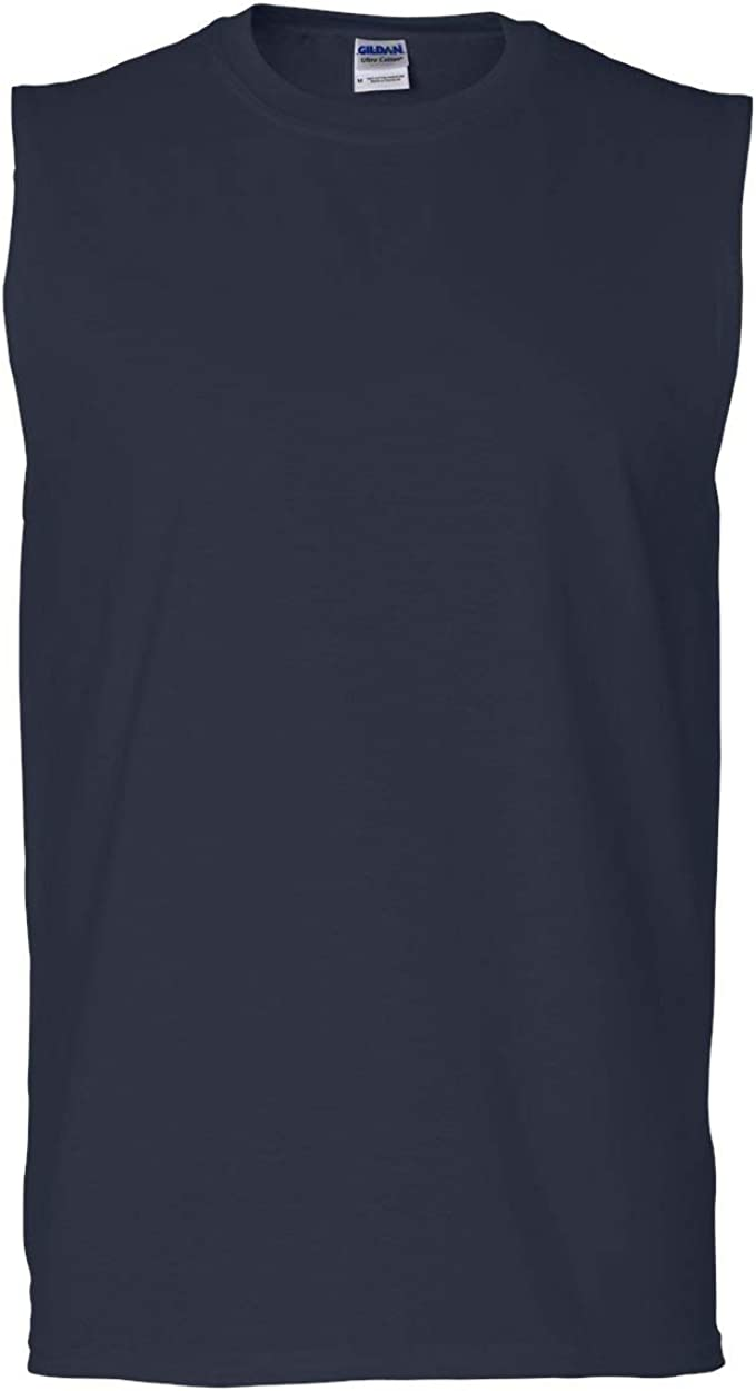 Gildan Mens 6.1 Oz. Ultra Cotton Sleeveless T-Shirt (G270)