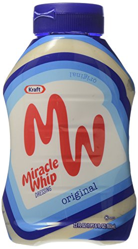 Miracle Whip Squeeze Bottle, 22 oz