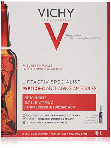 Vichy LiftActiv Peptide C Anti Aging Ampoules, 10 Count