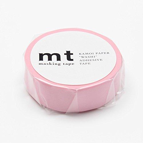 MT Solids Washi Paper Masking Tape: 3/5x33, Rose Pink (MT01P185)