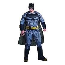 Plus Size Adult Batman V Superman: Dawn of Justice- Deluxe Batman Plus Costume