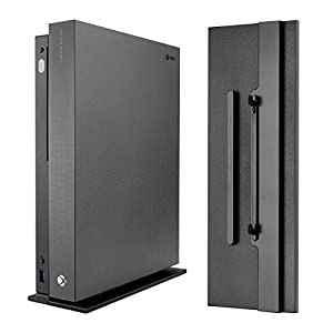 Best Epic Trends 41a6HqxzbrL._SS300_ eXtremeRate Vertical Console Stand for Microsoft Xbox One X - Black